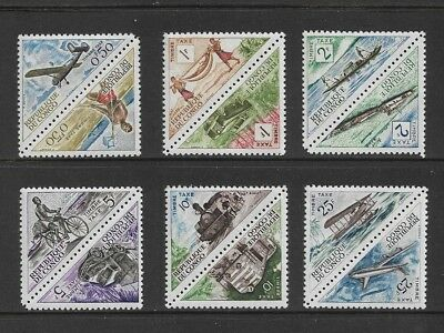 CONGO, Republic - mint 1961 Postage Due, Transport, joined pairs, MNH MUH