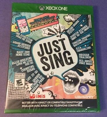 Just Sing (XBOX ONE) NEW