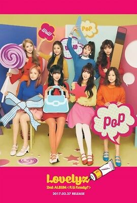 LOVELYZ R U READY? 2nd Album CD+88p Photobook+10p Postcard+2p Card K-POP SEALED