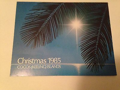 1985 Cocos (Keeling) Islands Christmas Minisheet Ms M/s Stamp Pack ( Mnh )