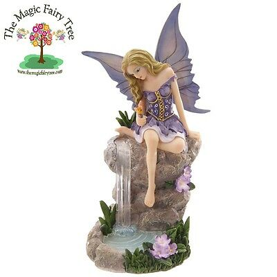 Tales of Avalon LIsa Parker Waterfall Whispers Fairy figurine ornament