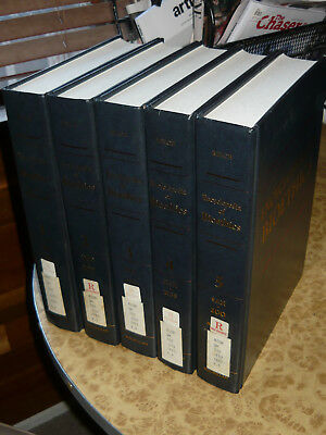 Encyclopedia of Bioethics 5 Volume Set 1995 Edition Ex Library Books Psychology