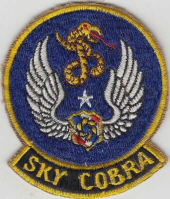 USAF Sky Cobra Patch Boeing RC-135