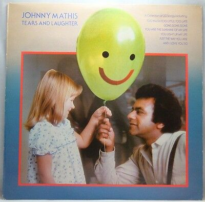 Johnny Mathis Tears And Laughter LP
