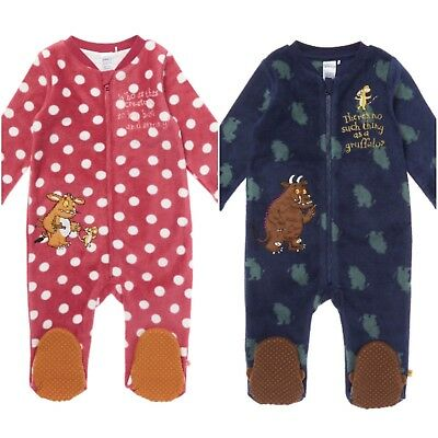 Baby Gruffalo Story Book Sleepsuit Pyjamas Pjs Girls Boys All In One Gift
