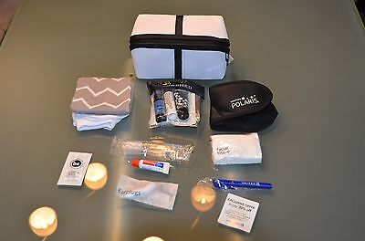 "United Airlines Amenitykit ""SaksFifthAvenue"" Firstclass  2017 Brandneu!!!!TOP!!!"