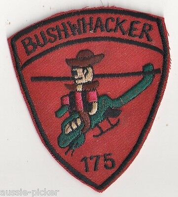 US Army 175th Assault Helicopter Co Vietnam Bushwackers  AH-1 Cobra Guns Patch