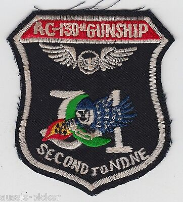 USAF 16th SOS Special Operations Squadron AC-130H Spectre Gunship Patch