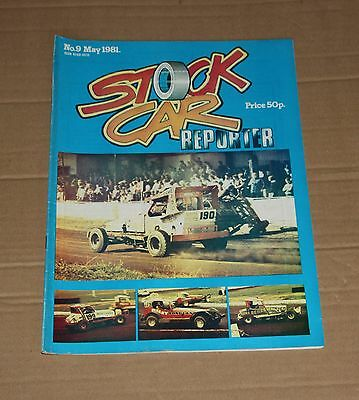 Stock Car Reporter magazine No.9, May 1981