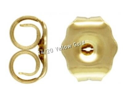 14k Gold Filled Quality Earring Backs Butterfly for Stud & Drops (2 For $11.00)