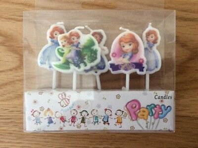 Sofia the First Birthday Candles