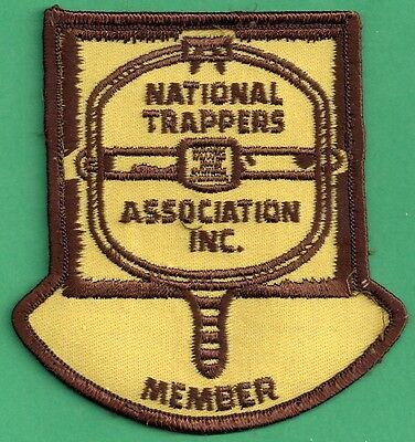 Pa Pennsylvania Fish Game Commission National Trappers Association Member Patch
