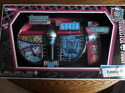 Monster High - Karaoke Micophone - Childs Playset - Suitable Ages 5+