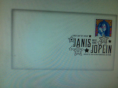 Janis Joplin postage stamp First Day Cover RARE