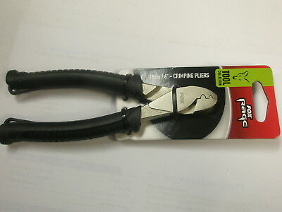 "Fox Rage 6"" Crimping Pliers Pike fishing tackle"