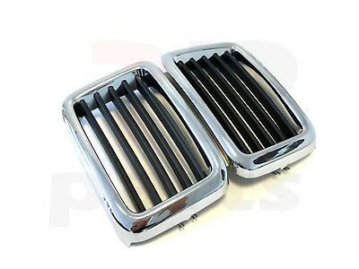 New Bmw 5 Series 1981-1987 E28 Front Center Grille Chrome Kidney 51131873253