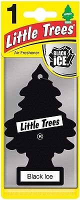 Little Trees Car Air Freshener - Black Ice Scent - Free Delivery