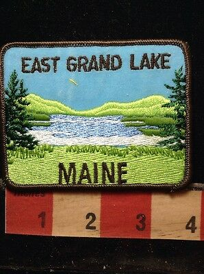 Vintage Collectible Patch EAST GRAND LAKE MAINE 68DD