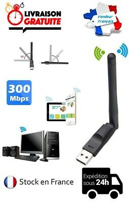 Cle Wifi Usb Neuve Antenne 300 Mbps Wireless Sans Fil 802.11 N/b/g