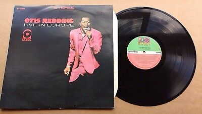 Otis Redding Otis Redding Live in Europe LP Album  Funk Soul very rare Canada is