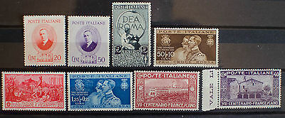 Italy. Various Mint stamps.