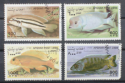1998 Fish Stamps Used
