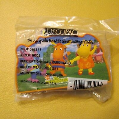 2007 BACKYARDIGANS IN MOTION DECOPAC CAKE TOPPERS figures NEW