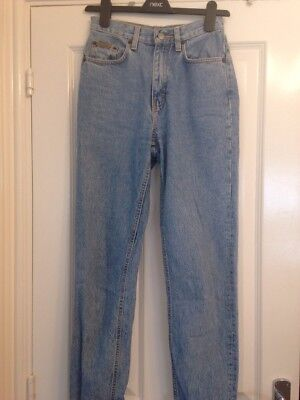 Vintage Calvin Klein Mom Jeans Size 6 90's Stonewashed High Waisted