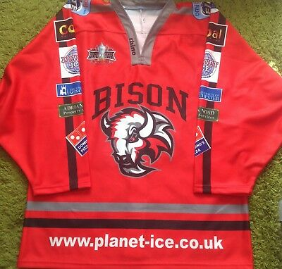 Basingstoke Bison Game Issue Playoff Jersey