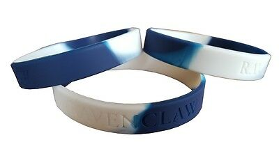 Hogwarts Ravenclaw House Colours Silicon Rubber Wristband