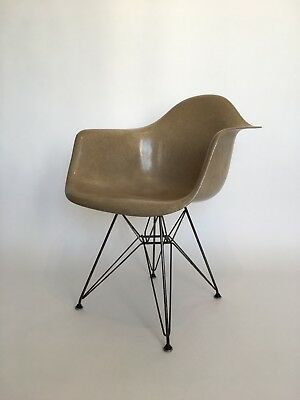 All original 2nd Generation Zenith Eames Herman Miller Fiberglass Dining Chair