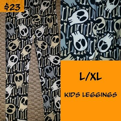 lularoe kids leggings l/xl new