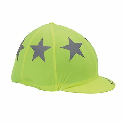 * Shires Hi Vis Equi-Flector Hat Cover in Pink or Yellow! *