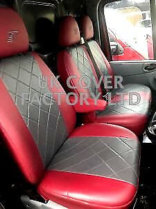 Tailored Vw Transporter T5 T30 T32 Van Seat Cover  Bentley Leatherette 151Gybur