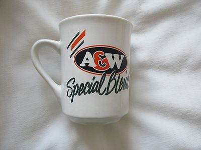 A & W SPECIAL BLEND French English CUP MUG COFFEE ROOT BEER A&W