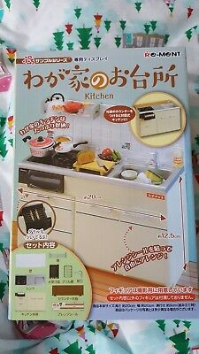 re-ment kitchen stove play kitchen blythe japanese toy rement new
