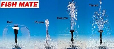 Fish Mate Spare Fountain Set For 5000/7000/9000Pumps