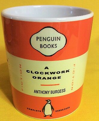 Penguin Book Cover-Anthony Burgess-A Clockwork Orange-On A  Mug.