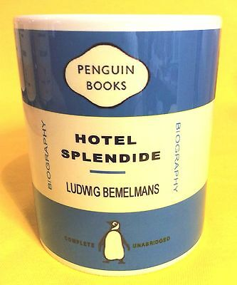 Penguin Book Cover-Ludwig Bemelmans-Hotel Splendide-On A  Mug