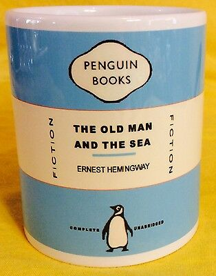 Penguin Book Cover-The Old Man At Sea-Earnest Hemingway-On A  Mug