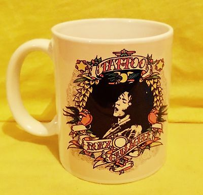 Rory Gallagher Tattoo 1973-Album Cover On A Mug.