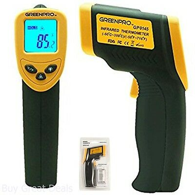 Temperature Gun IR No Contact Thermometer Digital Laser FDA FCC CE ROHS Approved