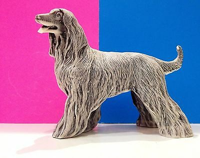 Afghan Hound Dog marble chips figurine Dog realistic Souvenirs from Russia