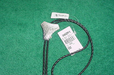 Double S Western String Bolo String Tie Mexico 22150 NWT tags unused gift new