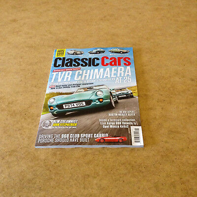 Classic Cars #532 Nov 2017 Anniversary Special Feature Tvr Chimaera News & More