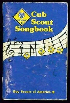 BSA Cub Scout Songbook 32222 1992 of 1969