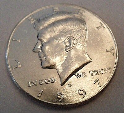 1997 D Kennedy Half Dollar   **FREE SHIPPING**