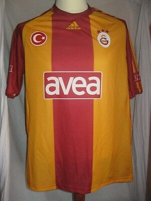 MAILLOT ADIDAS GALATASARAY ISTANBUL GS 1905 2008-2009 Football Jersey Maglia