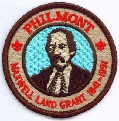BSA Philmont Maxwell Land Grant 150 years patch