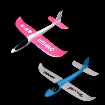 Outdoor Hand Launch Throwing Glider Aircraft Inertia Foam FFA Airplane Toy  FF